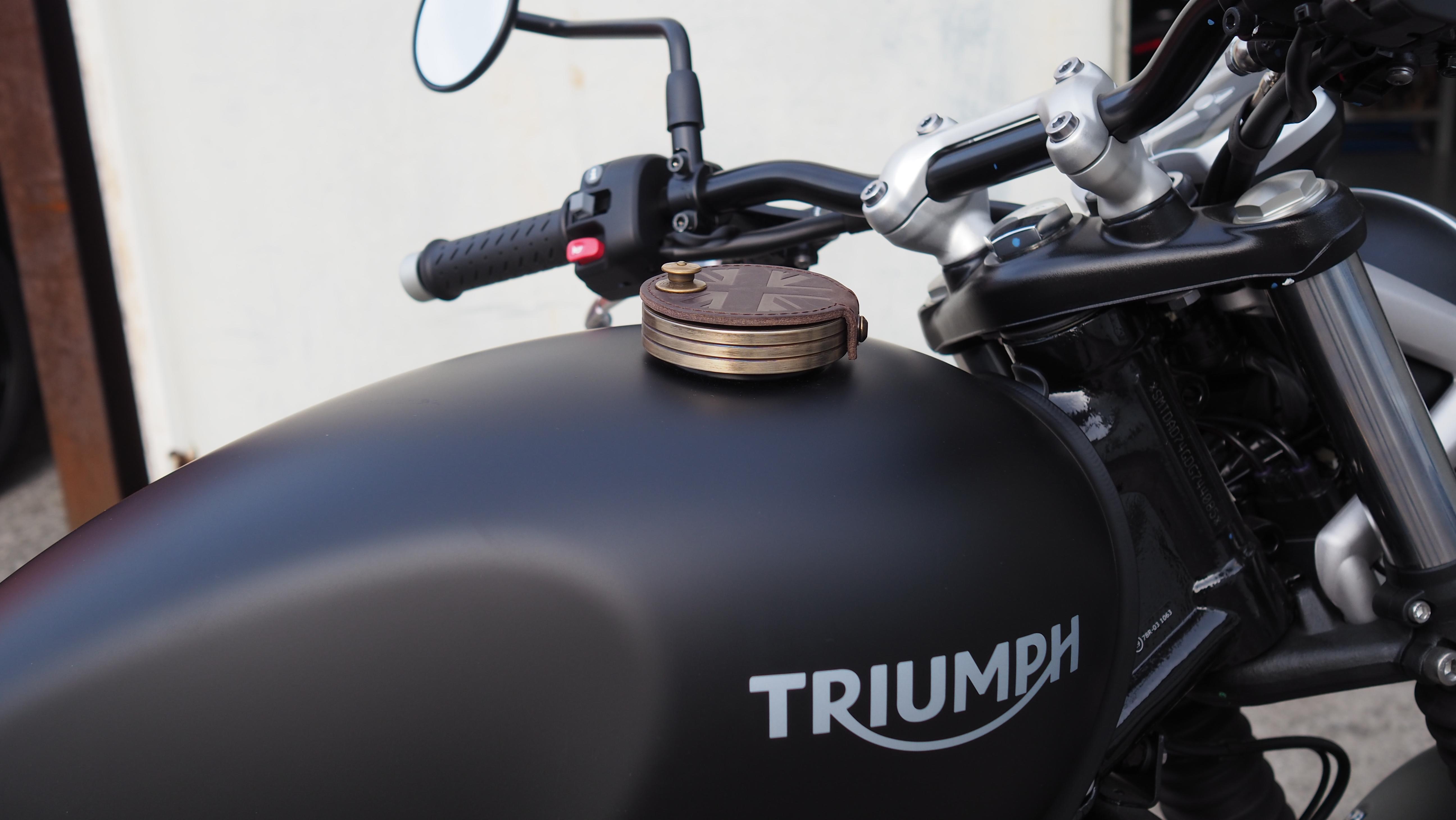 Tank Deckel Triumph Bonneville Thruxton Scrambler America Speedmaster Alu