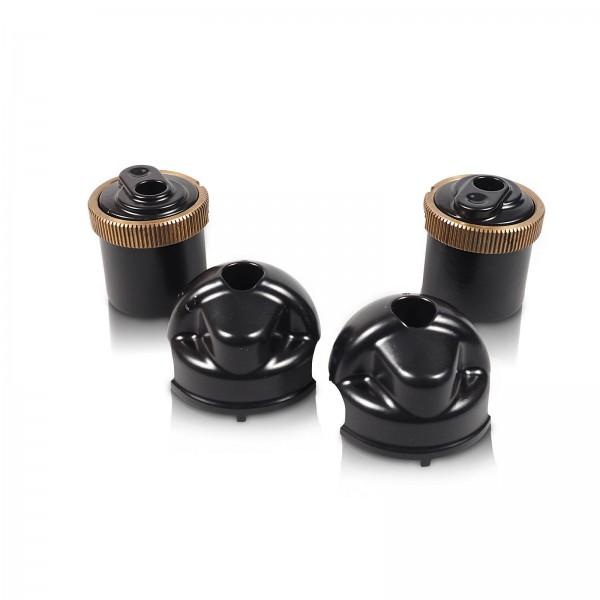 Einspritzleisten LC schwarz pulvern