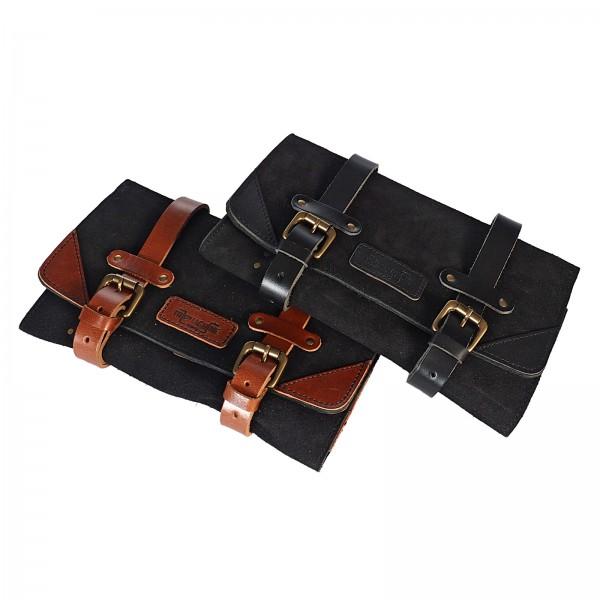 Leg bag genuine leather