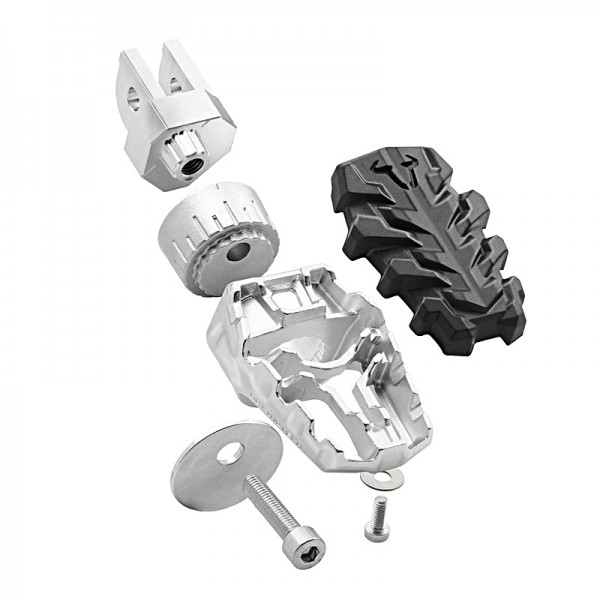 EVO footrests Scam 1200 adjustable