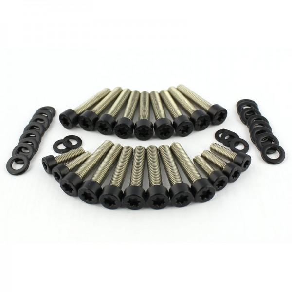 Stirndeckel Schrauben Black R9T