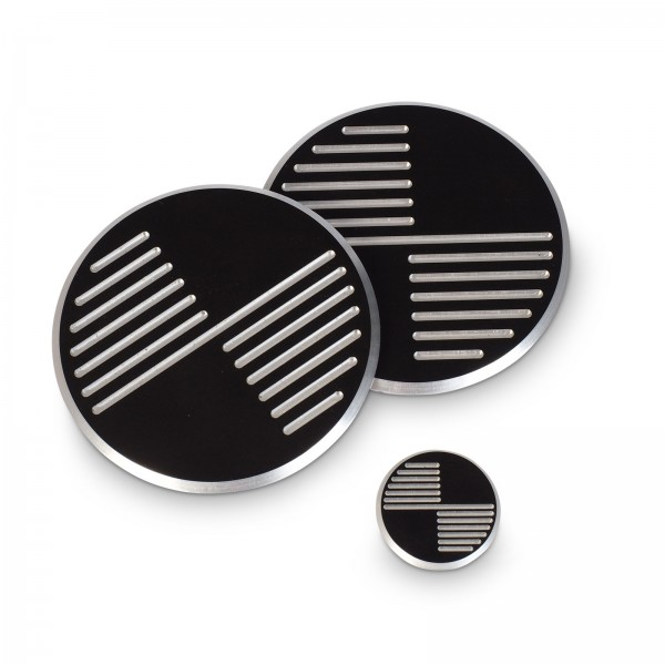 CNC Milled Black Embleme für BMW