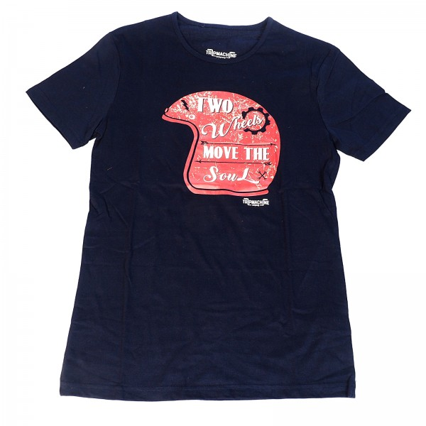 T-Shirt Two Wheels Move The Soul