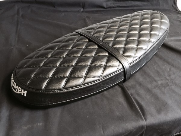 Quilted Bench Black Amp Brown Streettwin Seat Amp Seat
