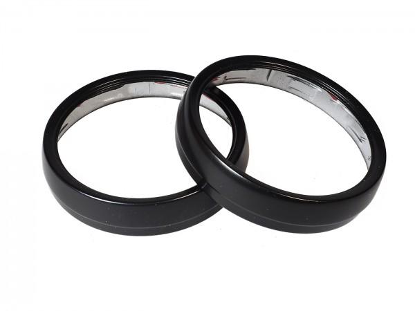 Speed rings black coated