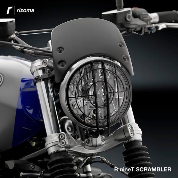 Rizoma Aluflyscreen R9T Scrambler & Pure lang & kurz