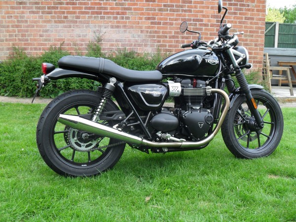 Peasshooter for Street Twin