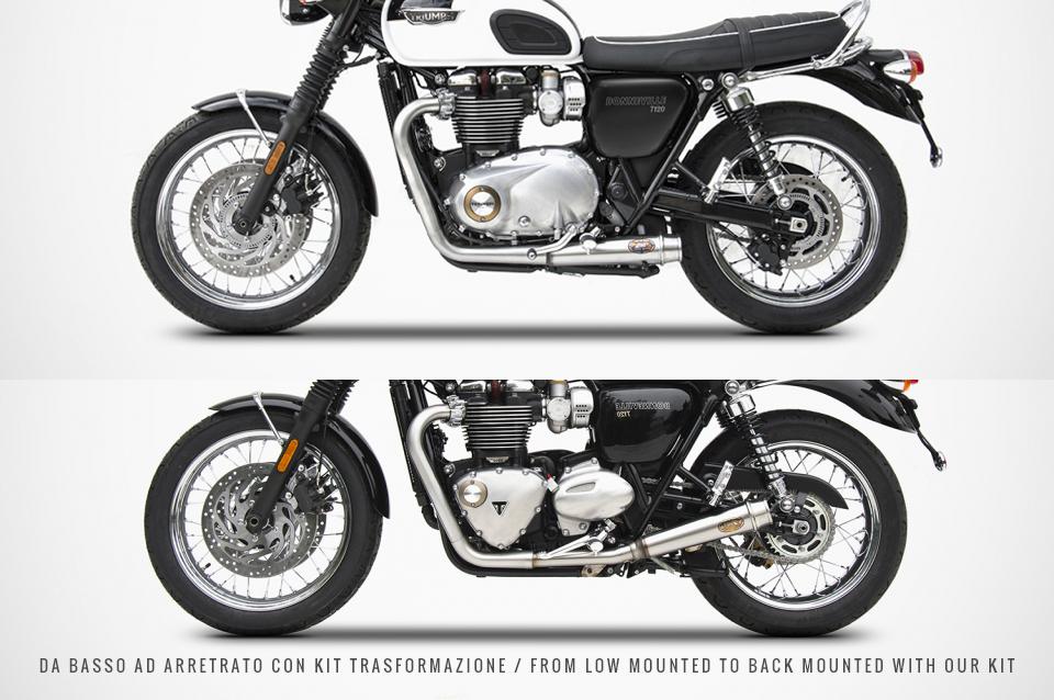 bonneville t120 auspuff triumph lc 16 classicbike. Black Bedroom Furniture Sets. Home Design Ideas