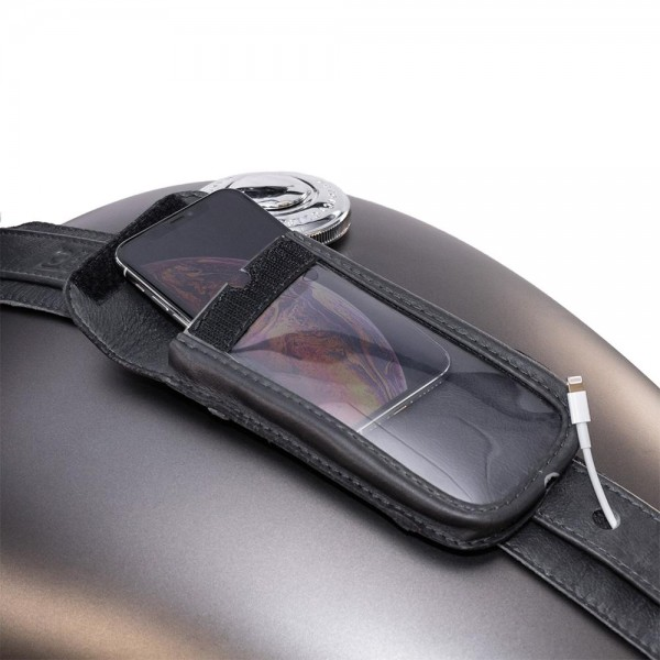 Cell phone pocket for tank strap Slim