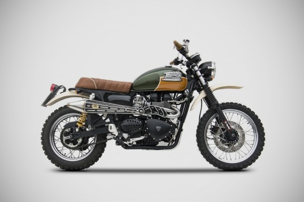 Zard Scrambler Gold Edition