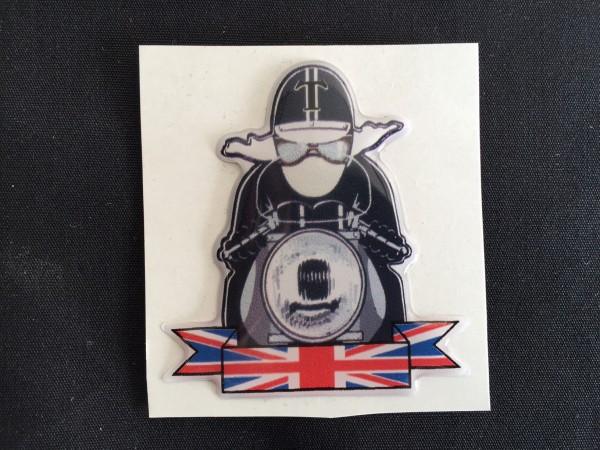 UK Rider Sticker