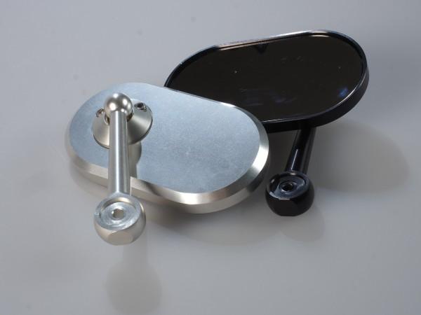 Lenkerendenspiegel CNC Oval