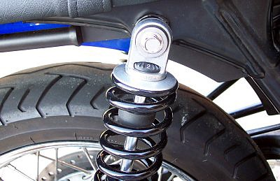 Ikon shocks for Thruxton & Scrambler