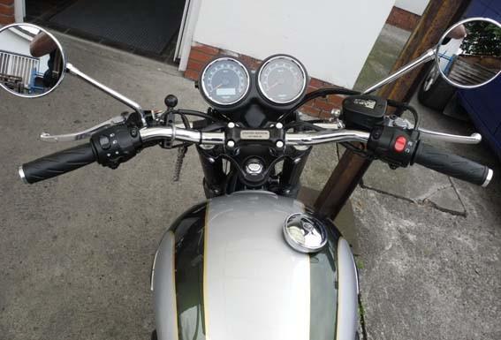 """1"""" Superbike Lenker Schwarz & Chrom"""