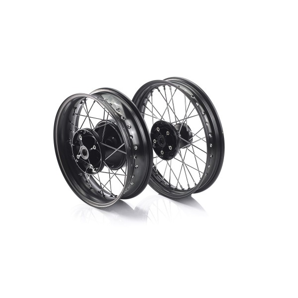 Bonnie wheel set black