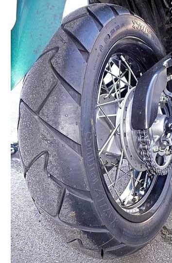 San Remo Alu rear wheel 4.25x17