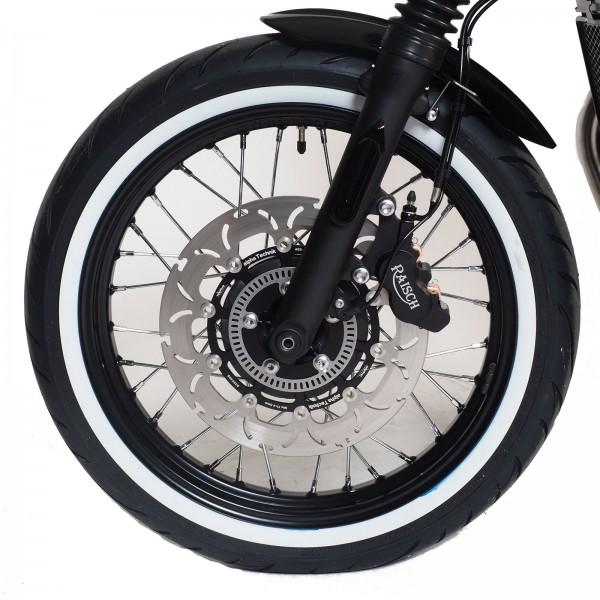Brake disc floating