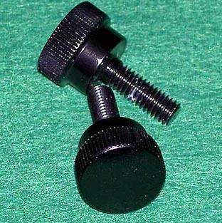 Seitendeckelschrauben schwarz