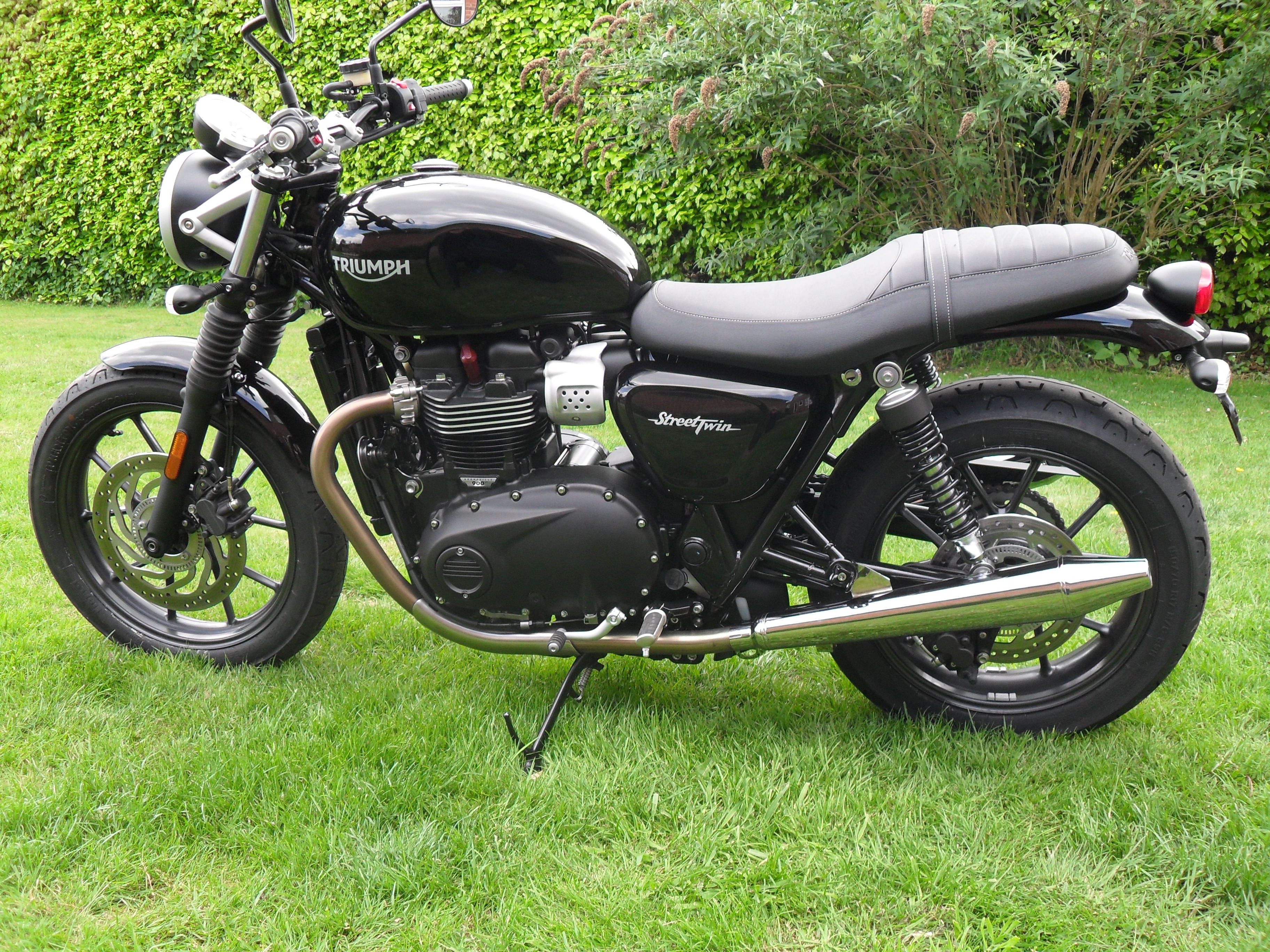 Peasshooter For Street Twin Streettwin Cup Exhaust Triumph