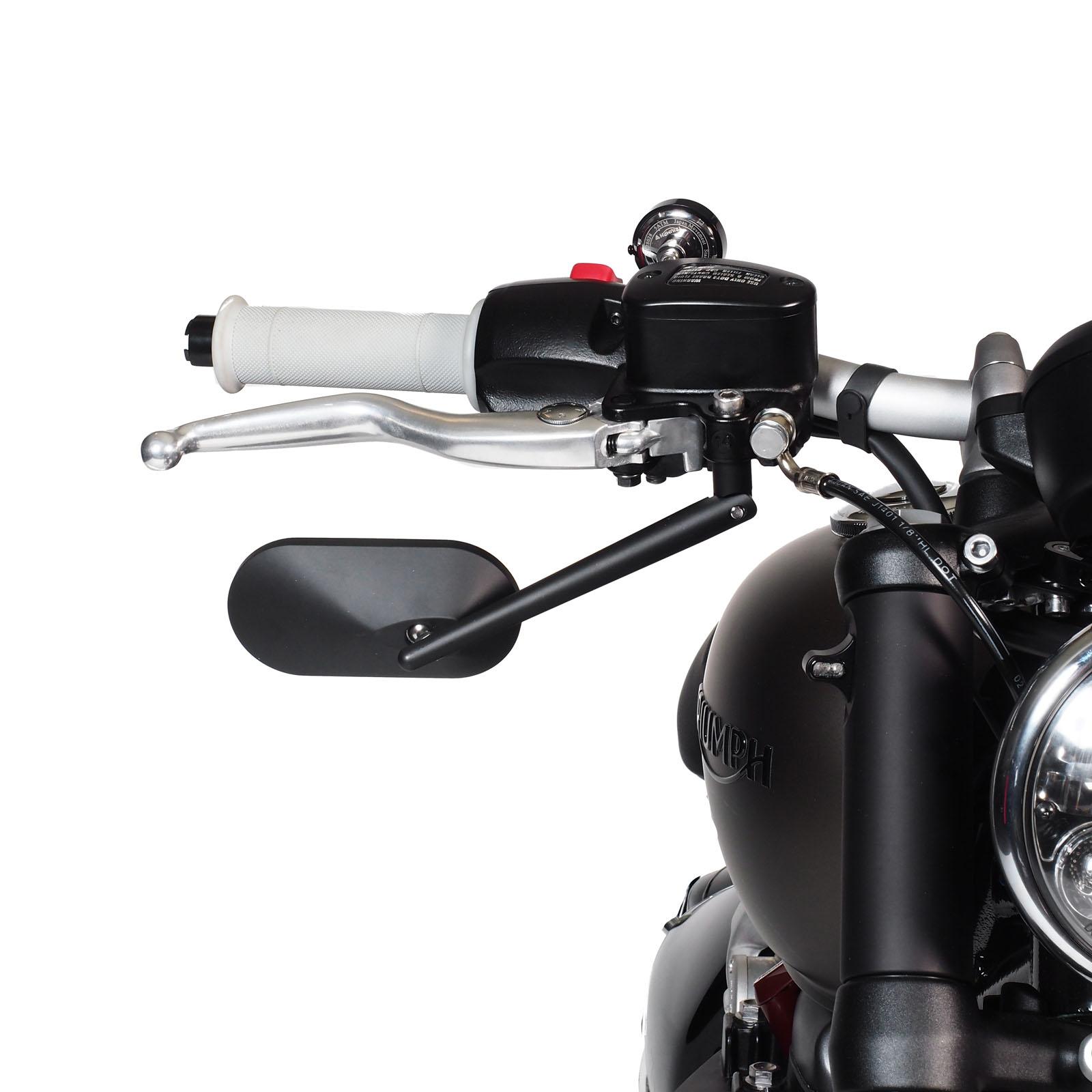 Bmw Bike: Underbar Flat-Style Spiegel