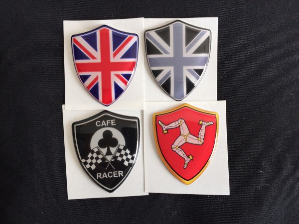 Coat of arms stickers