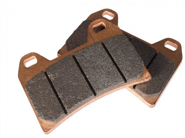 Brake lining for Raisch 4 piston pliers LC