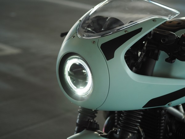 Small LED headlight with fairing R9T Racer