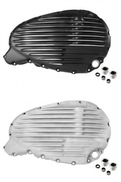 Clutch cover ribbed