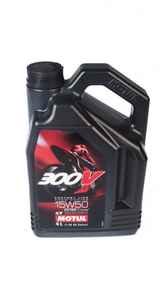 Motul engine oil 300V 15W50