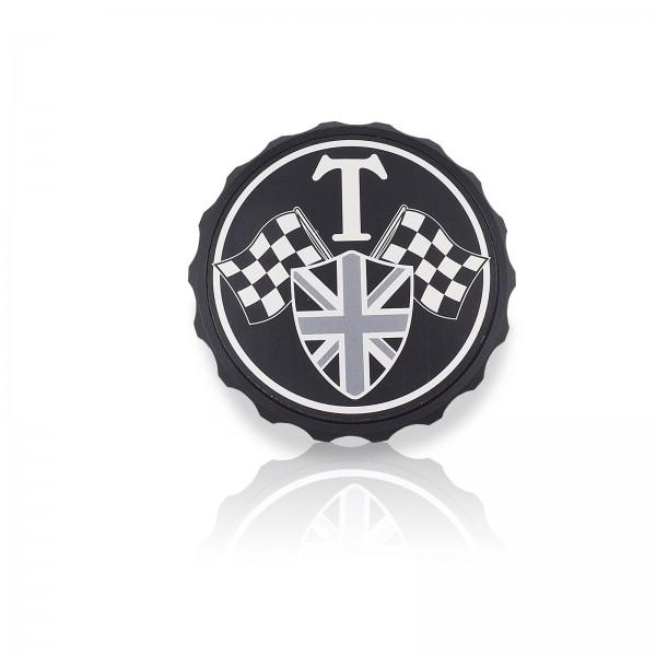 Tankdeckel mit T-Wappen