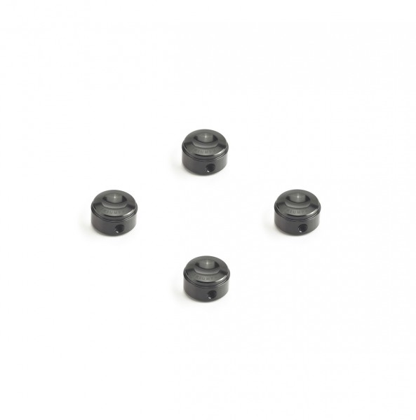 Cylinder head screw caps black, silver & antrahzit
