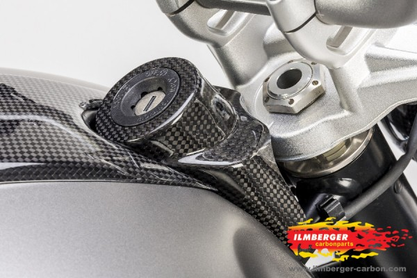 Carbon Cover Ignition Lock