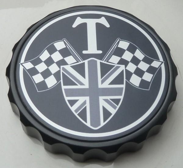 Tankdeckel mit T-Wappen SW & SI