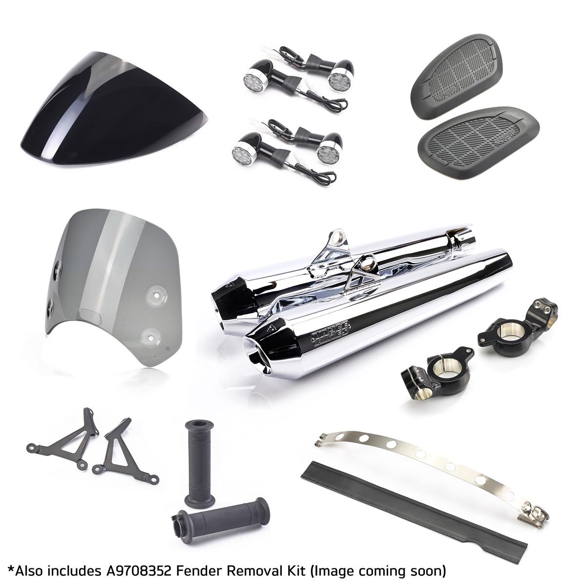 cafe racer kit thruxton thruxton komplette umbau kits. Black Bedroom Furniture Sets. Home Design Ideas