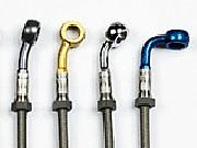 Stahlflexbremsleitung