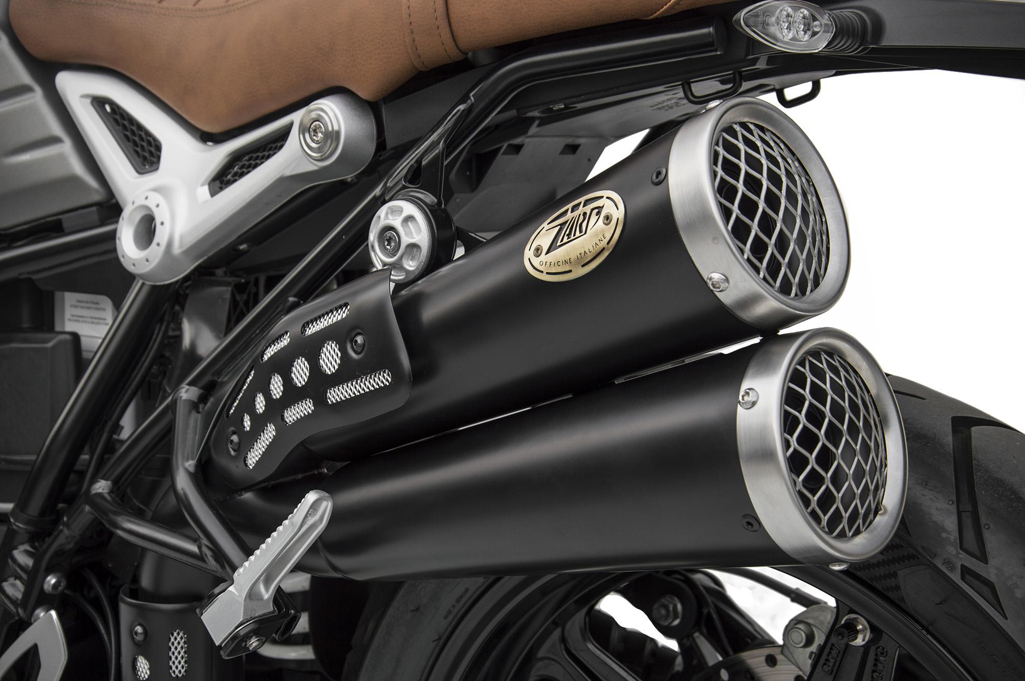 Zard Thunderbolt R9t Scrambler Exhaust Exhaust Bmw R9t Classicbike Raisch