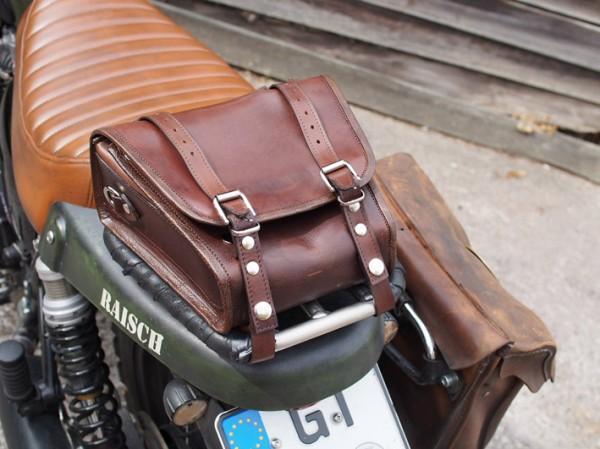 Leder Tasche für Einzelsitzbank
