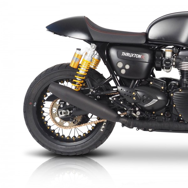 Remus stainless steel exhaust for Thruxton