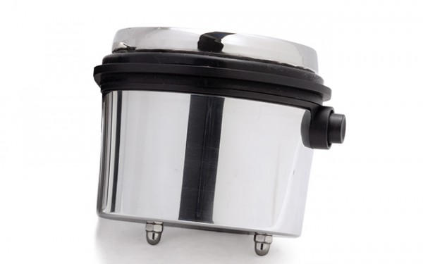 Aluminium speedo housing for single speedo