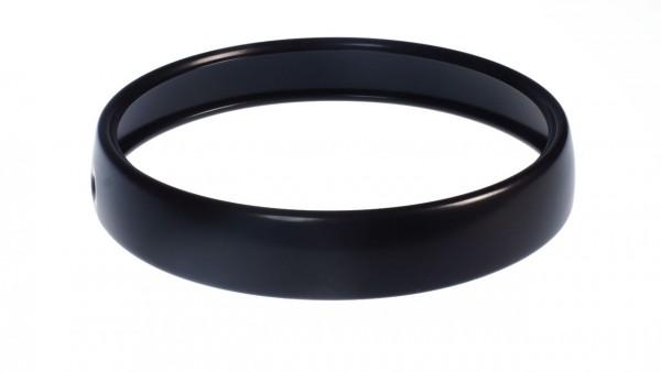 Lampenring R9T schwarz pulvern